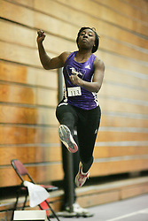 London, Ontario ---11-01-22---   Alicia Smith of the Western Mustangs competes at the 2011 Don Wright meet at the University of Western Ontario, January 22, 2011..GEOFF ROBINS/Mundo Sport Images.