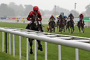 INSTANT ATTRACTION (1) ridden by Charlotte Atkinson and trained by Jedd O'Keeffe winning The Ernest Cooper Macmillan Ride Of Their Lives Charity Race over 1m 1f  during the MacMillan Charity Raceday held at York Racecourse, York, United Kingdom on 15 June 2019.