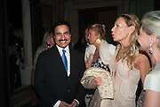 Prince Mishaal Al Saud<br /> <br /> , Andrea Dibelius of the EMDASH Foundation hosts party to celebrate the Austrian Pavilion and artist Mathias Poledna at the Venice Biennale. Palazzo Barbaro, Venice. 30 May 2013<br /> <br /> <br /> Venice. Venice Bienalle. 28 May 2013