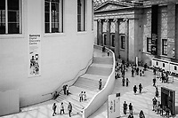 Vast Space Inside The British Museum - London, England, 2017