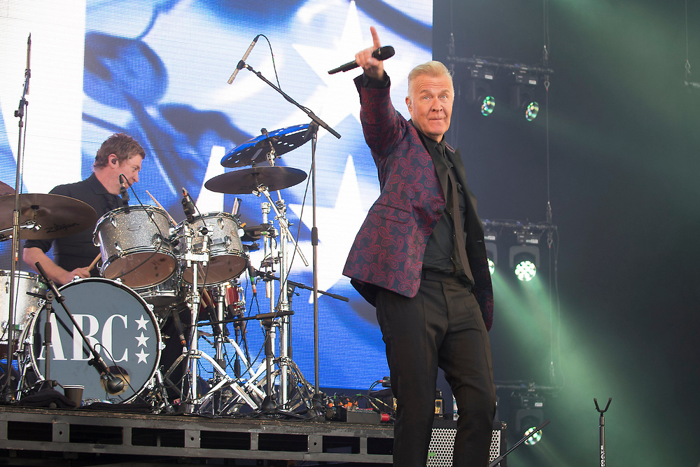 ABC in concert at Lets Rock Scotland, Dalkeith Country Park, Edinburgh, Great Britain 23rd June 2018