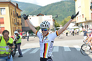 Ciclismo giovanile, 17A Coppa Rosa, Borgo Valsugana 10 settembre 2016<br /> Prima Classificata Kock Franziska<br />  &copy; foto Daniele Mosna