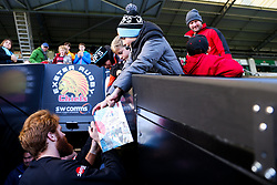 Exeter Chiefs fans - Rogan/JMP - 10/11/2019 - RUGBY UNION - Sandy Park - Exeter, England - Exeter Chiefs v Bristol Bears - Gallagher Premiership.