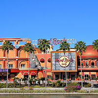 Hard Rock Cafe at Universal CityWalk in Orlando, Florida<br />