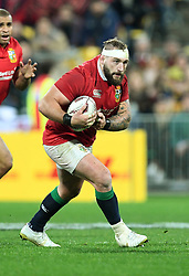 """Joe Marler of the Lions against the Hurricanes in the International rugby match between the the Super Rugby Hurricanes and British and Irish Lions at Westpac Stadium, Wellington, New Zealand, Tuesday, June 27, 2017. Credit:SNPA / Ross Setford  **NO ARCHIVING"""""""