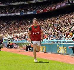 Lee Keegan was a late change on the Mayo team for the All Ireland quarter final replay.<br /> Pic Conor McKeown