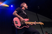 Strung Out perform at Musink on March 16, 2018 at the OC Fair & Event Center in Costa Mesa, California (Photo: Charlie Steffens/Gnarlyfotos)