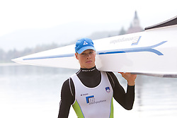 Jure Cvet during media day of Slovenian National rowing team before World Championships in New Zealand 2010 on October 14, 2010 in Mala Zaka, Bled, Slovenia. (Photo by Vid Ponikvar / Sportida)