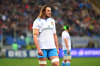 Joshua FURNO - 15.03.2015 - Rugby - Italie / France - Tournoi des VI Nations -Rome<br /> Photo : David Winter / Icon Sport