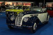 RIAC Classic Car Show 2013, RDS, BMW, 328, FRAZER, NASH_KMF 644. The BMW 328 Roadster was produced by BMW from 1936 through to 1940. It's a true museum piece. Irish, Photo, Archive.