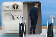 Barack Obama & Air Force One