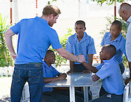 Prince Harry Visits Rehabilitation Center, Cape Town