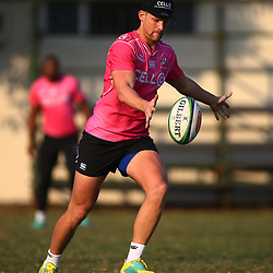 Robert du Preez of the Cell C Sharks during the Cell C Sharks training, Jonsson Kings Park Stadium,Durban South Africa.27,06,2018 Photo by (Steve Haag REX Shutterstock )
