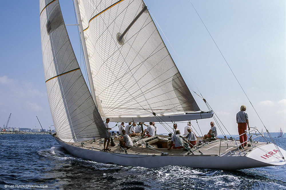 IKRA K3, voile, 12M, Jauge internationale,Régate, Royales