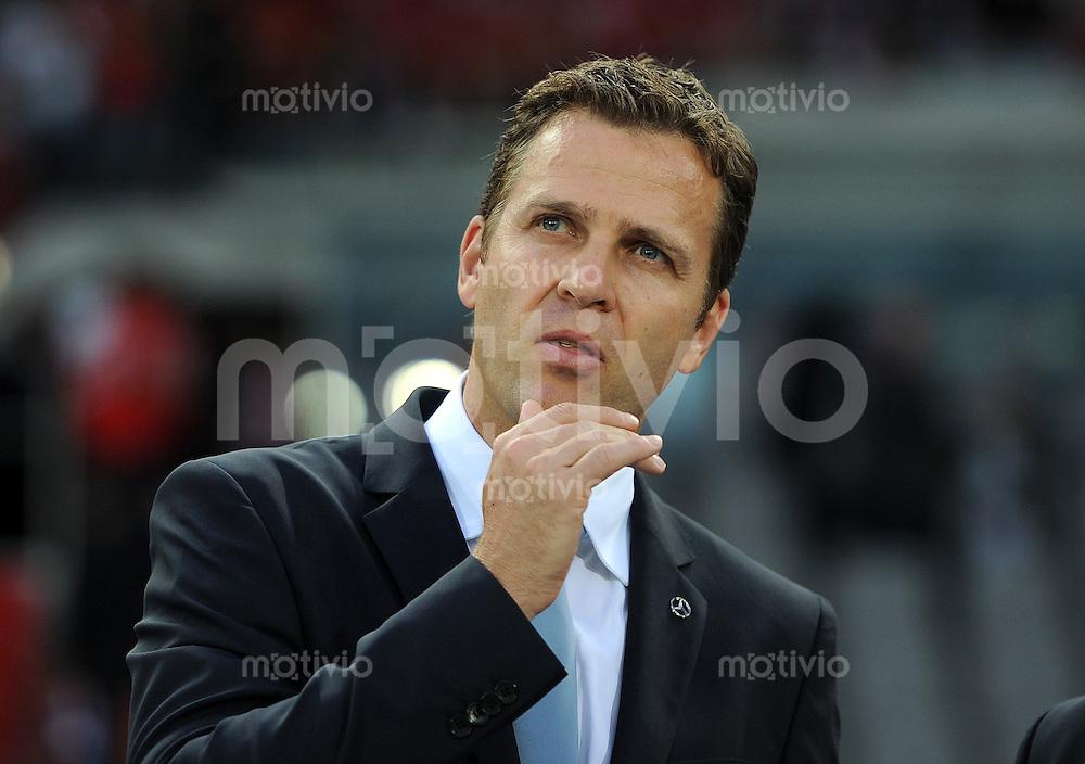 FUSSBALL INTERNATIONAL  EM 2012 Qualifikationsspiel  03.06.2011 Oesterreich - Deutschland  DFB Teammanager Oliver Bierhoff