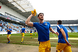 Tom Lockyer of Bristol Rovers throws a Kick it Out t-shirt into the crowd - Mandatory by-line: Robbie Stephenson/JMP - 07/04/2019 - FOOTBALL - Ricoh Arena - Coventry, England - Coventry City v Bristol Rovers - Sky Bet League One