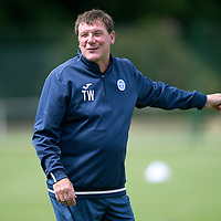 St Johnstone Manager Tommy Wright during the first day of pre-season training….27.06.16<br />Picture by Graeme Hart.<br />Copyright Perthshire Picture Agency<br />Tel: 01738 623350  Mobile: 07990 594431