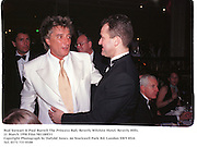Rod Stewart & Paul Burrell The Princess Ball, Beverly Wilshire Hotel. Beverly Hills. 21 March 1998 Film 981180f31<br />