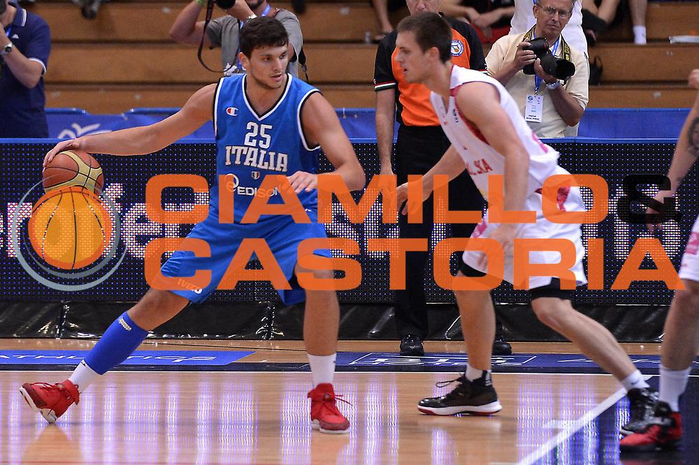 DESCRIZIONE : Trento Basket Cup 2013 Italia Polonia<br /> GIOCATORE : Alessandro Gentile<br /> CATEGORIA : Controcampo<br /> SQUADRA : Nazionale Italia Uomini Maschile<br /> EVENTO : Trento Basket Cup 2013 Italia Polonia<br /> GARA : Italia Polonia<br /> DATA : 09/08/2013<br /> SPORT : Pallacanestro<br /> AUTORE : Agenzia Ciamillo-Castoria/GiulioCiamillo<br /> Galleria : FIP Nazionali 2013<br /> Fotonotizia : Trento Basket Cup 2013 Italia Polonia<br /> Predefinita :