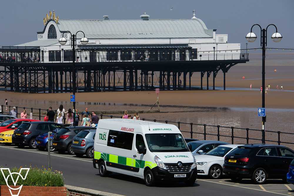 Thames Ambulance Service Ltd - Cleethorpes sea front, North East Lincolnshire<br /> <br /> Picture: Chris Vaughan Photography<br /> Date: May 25, 2017