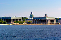 United States Naval Academy, on the Severn River, Annapols, Maryland, USA.