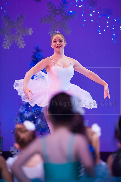 Wellington, NZ. 5.12.2015. Sugar Plum Fairy, from the Wellington Dance & Performing Arts Academy end of year stage-show 2015. Little Show, Saturday 10.15am. Photo credit: Stephen A'Court.  COPYRIGHT ©Stephen A'Court