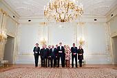 Koning ontmoet Voorzitter Martin Schultz -  Europees parlement