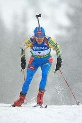 Lilia Vaygina-Efremova (UKR) at Women 15 km Individual at E.ON Ruhrgas IBU World Cup Biathlon in Hochfilzen (replacement Pokljuka), on December 18, 2008, in Hochfilzen, Austria. (Photo by Vid Ponikvar / Sportida)