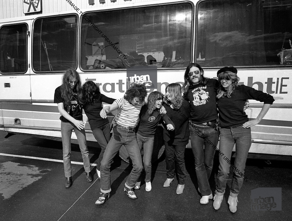 Motorhead and Girlschool tour - France 1987