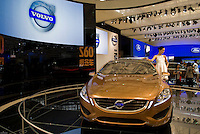 The Volvo S60 at the Shanghai autoshow 2009