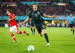 10.09.2013, Ernst Happel Stadion, Wien, AUT, FIFA WM Qualifikation, Oesterreich vs Irland, Rueckspiel, im Bild Ciaran Clark, (IRL, #12)// during the FIFA World Cup Qualifier second leg Match between Austria and Ireland at the Ernst Happel Stadium in Vienna, Austria on 2013/09/10. EXPA Pictures © 2013, PhotoCredit: EXPA/ Sebastian Pucher
