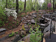Newly renovated parts of The Ramble in Central Park
