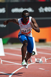 DAMBAKATE Bacou, FRA, 100m, T13, 2013 IPC Athletics World Championships, Lyon, France