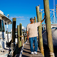 10/28/14 5:47:11 PM -- Cortez, FL, U.S.A  -- John Yates, a former commercial fisherman who was convicted under a major federal document-shredding statute for throwing undersized grouper overboard.  --    Photo by Chip J Litherland, Freelance