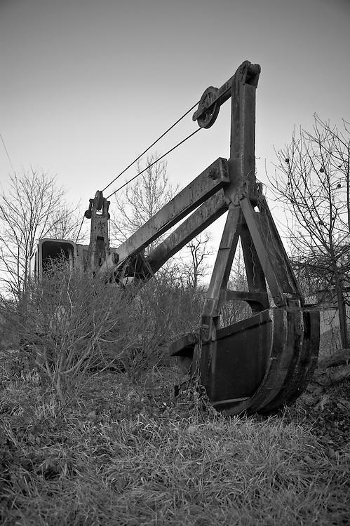 Steam shovel, Western Maryland
