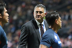 November 25, 2017 - Paris, France - Japan coach Jamie Joseph before the International test match between France and Japan at U Arena. (Credit Image: © Nicolas Briquet/SOPA via ZUMA Wire)