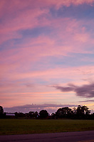 Pastel Sky at Dawn. 4 of 13 Images taken with a Leica X2 camera and 24 mm f/2.8 lens (ISO 125, 24 mm, f/2.8, 1/30 sec). Raw images processed with Capture One Pro and the panorama generated using AutoPano Giga Pro.
