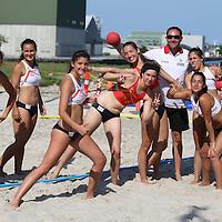 BHAN: EM i Beach Handball 2013, Randers (W19)