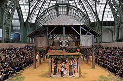 Ambiance during Chanel Spring-Summer 2010 ready-to-wear collection show held at the Grand Palais in Paris, France, on October 6, 2009. Photo by Christophe Guibbaud/ABACAPRESS.COM