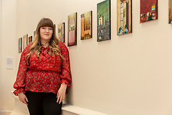RSA New Contemporaries takes place at the Royal Scottish Academy, Edinburgh, from 9 March to 3 April 2019. Showcasing 63 graduates selected from the 2018 degree shows, this exhibition offers an opportunity to see the best of Scotland&rsquo;s emerging talent under one roof. <br /> <br /> Pictured: Samantha Cheevers, 23, from Port Glasgow, who is the winner of the Glenfiddich Residency Award, worth &pound;10,000, the largest award for an emerging artist in Scotland.<br /> <br /> ** Note use of pictures is embargoed to 8pm on 8/3/2019 **