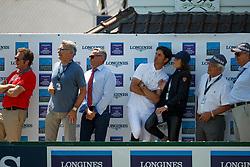 Team SUI, Jufer Alain, Kistler ANdy, Skalli Fanny<br /> Longines FEI Jumping Nations Cup de France<br /> La Baule 2018<br /> © Hippo Foto - Dirk Caremans<br /> 20/05/2018