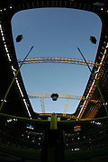IRVING, TX - OCTOBER 23:  The blue sky appears through the hole in the stadium roof prior to the Dallas Cowboys MNF game against the New York Giants at Texas Stadium on October 23, 2006 in Irving, Texas. The Giants defeated the Cowboys 36-22. ©Paul Anthony Spinelli