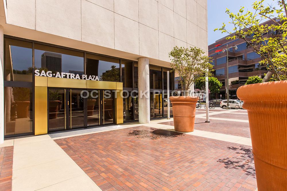 SAG-AFTRA Plaza on Wilshire Blvd Los Angeles