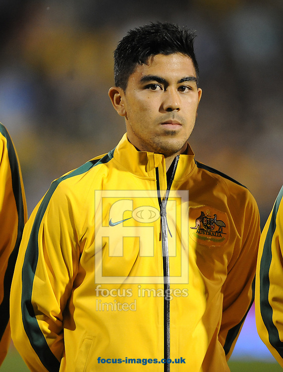 Massimo Luongo of Australia during the International Friendly match at Craven Cottage, London<br /> Picture by Daniel Hambury/Focus Images Ltd +44 7813 022858<br /> 08/09/2014