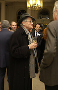 David Hockney, Opening of an exhibition of watercolours by David Hockney. Midsummer: East Yorkshire 2004, Gilbert Collection. Somerset House. 16  November 2005 . ONE TIME USE ONLY - DO NOT ARCHIVE © Copyright Photograph by Dafydd Jones 66 Stockwell Park Rd. London SW9 0DA Tel 020 7733 0108 www.dafjones.com