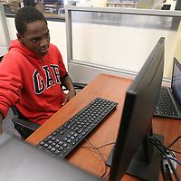 Tupelo Middle School student Trevor Golden, 14,