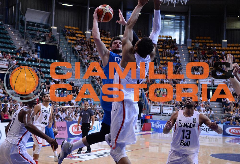 DESCRIZIONE: Bologna Basketball City Tournament - Italia Filippine<br /> GIOCATORE: Alessandro Gentile<br /> CATEGORIA: Nazionale Maschile Senior<br /> GARA: Bologna Basketball City Tournament - Italia Canada<br /> DATA: 26/06/2016<br /> AUTORE: Agenzia Ciamillo-Castoria