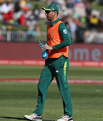 Kyle Abbott of South Africa during the 3rd ODI match between South Africa and Australia held at Kingsmead Stadium in Durban, Kwazulu Natal, South Africa on the 5th October  2016<br /> <br /> Photo by: Steve Haag/ RealTime Images
