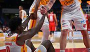 Barford Jaylen, Zanotti Simone<br /> Carpegna Prosciutto Basket Pesaro - Allianz Pallacanestro Trieste<br /> Campionato serie A 2019/2020 <br /> Pesaro 5/01/2020<br /> Foto M.Ciaramicoli // CIAMILLO-CASTORIA