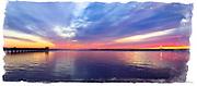 Captree Sunrise Drama - Babylon, Long Island